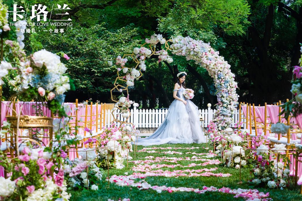结婚请柬_蜂巢元素花园风婚礼《余生,请多指教》-来自卡珞兰婚礼定制客 ...