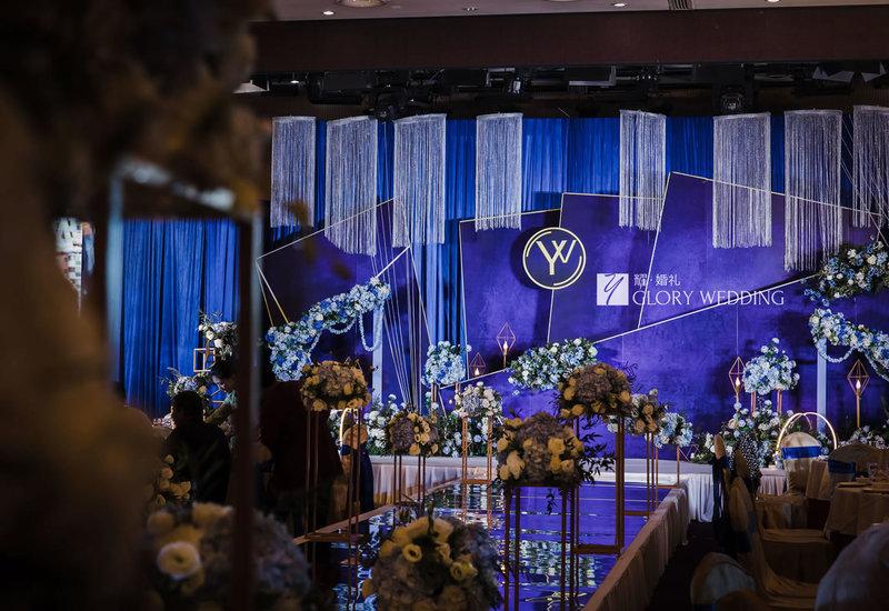 婚礼素材_蓝色主题婚礼,浪漫婚礼  婚礼时光
